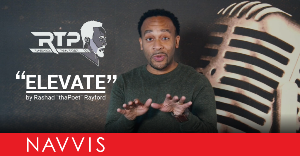 "Our Inspiration: Watch Rashad Rayford's Original Poem ""Elevate"""